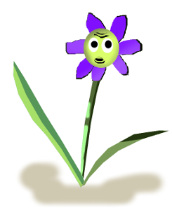 Confused flower
